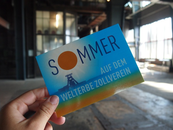 """Rund um das Thema """"Sommer in der Zeche Zollverein"""" finden zahlreiche Veranstaltungen statt."""