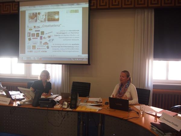 """Bei meinem Vortrag gehe ich auch auf professionelle Details, wie die Integration einer Seite mit """"Mediendaten"""" zur Kooperation auf dem Blog."""