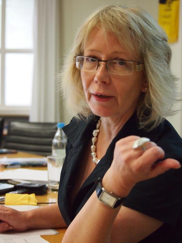 Karin Drda-Kühn und ich führen gekonnt den Dialog aus Sicht eines Kulturtourismus-Netzwerkes und Reiseblogger ...