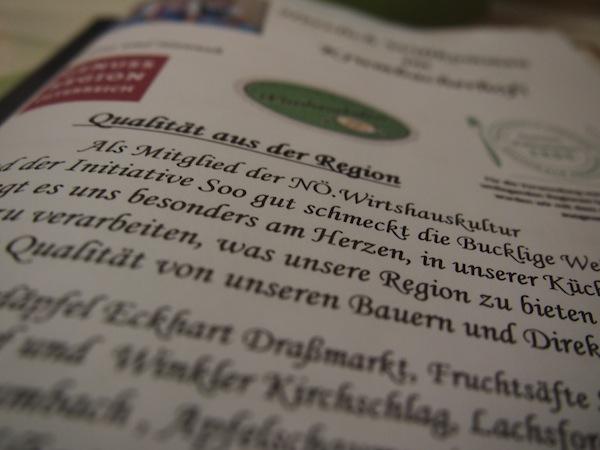 Die niederösterreichische Wirtshauskultur hat es sich zum Ziel gemacht, nur das Beste der jeweiligen Region auf den Teller zu bringen. Das schmecken wir!