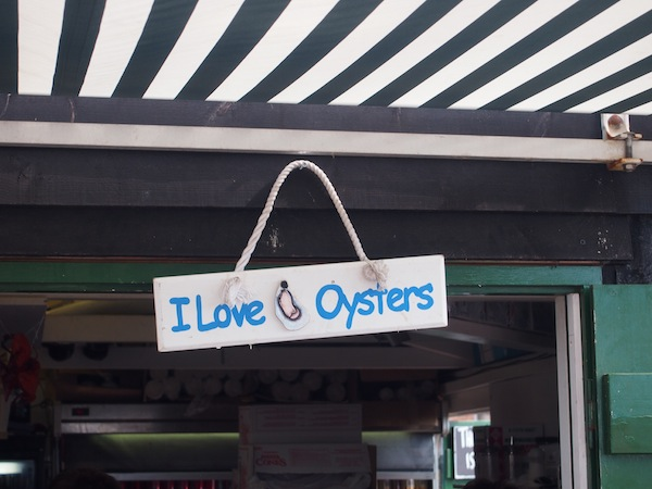 I love oysters. Do you?