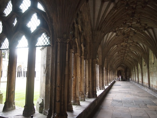 This cloister looks back on some 600 years of eventful history …