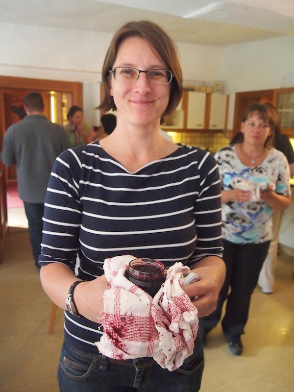 Liebe Gudrun, Du hast es drauf! Hausgemachte Marmelade im Handumdrehen gefertigt.