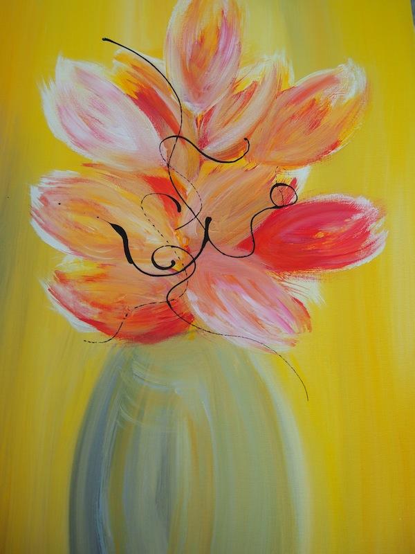 Ich freue mich ob der Ausdrucks- und Leuchtkraft meines eigenen kleinen, bescheidenen Werkes. :D