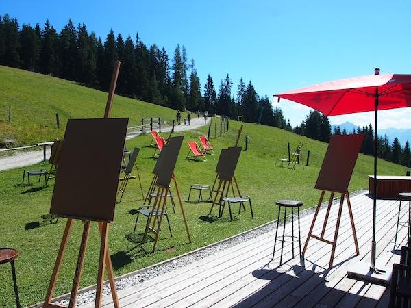 Im wunderschönen Ambiente der Salzburger Bergwelt kreativ tätig werden: Herz, was willst Du mehr? :)