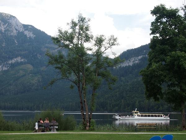 Das Ausseerland ist zu Recht ein kleines Stück vom Paradies ... Hier mit Blick auf den Altausseer Grundlsee.