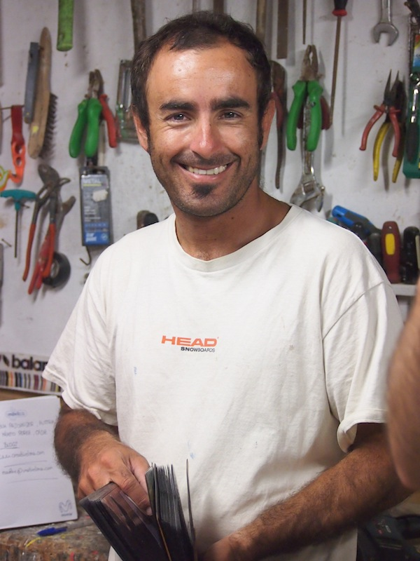 Daniel teaches us all about his passion and experience in designing and building surfboards at one of the world's top kite surfing locations.