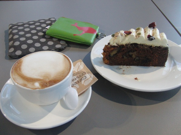 "Another element of ""Kiwi pride"" has become their absolutely fantastic coffee & carrot cake combination all over the country. GO for it, folks :)"