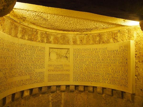 Hier haben schon die Römer um die heilende Wirkungskraft des natürlich vorkommenden, heißen Schwefel-Thermalwassers gewusst.