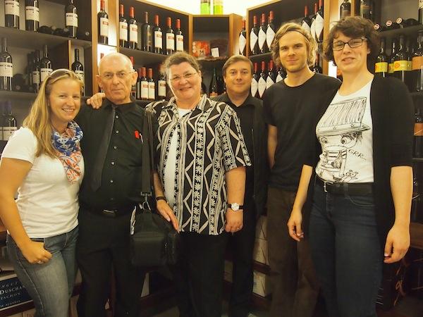 Vielen Dank für diese tolle Reise! Meine Reisekollegen & Freunde von links nach rechts: Petar & Monika Fuchs, Andreas Susana, Christian Kermer & Anna Zell - schön ist es mit Euch!