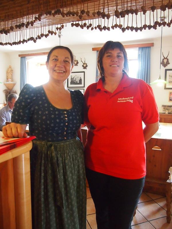 Danke für den tollen Empfang, liebes Team des Mohnwirt Neuwiesinger im Mohndorf Armschlag!