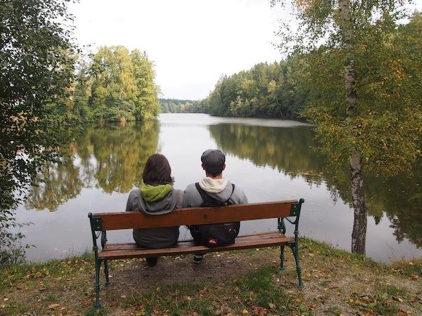Die Runde um den Herrensee in Litschau ist einfach fabelhaft ... Ruhe ... Frieden ... Natur ... wow.