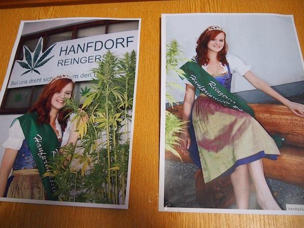 Wenig später lockt das Hanfdorf Reingers mit viel Infos rund um die wertvolle Kulturpflanze Hanf.