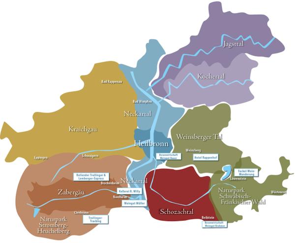"""Wo sind wir hier? Rund um die Stadt Heilbronn bietet der """"WeinSüden"""" von Baden-Württemberg so einige spannende Ausflugsziele."""