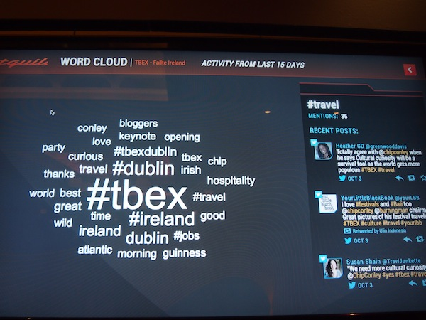 #TBEX starting up: One of the largest travel blogger & industry gatherings around the globe taking place in October 2013 in Dublin.