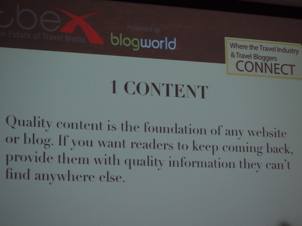 We follow another interesting session about community building and travel writing online here.
