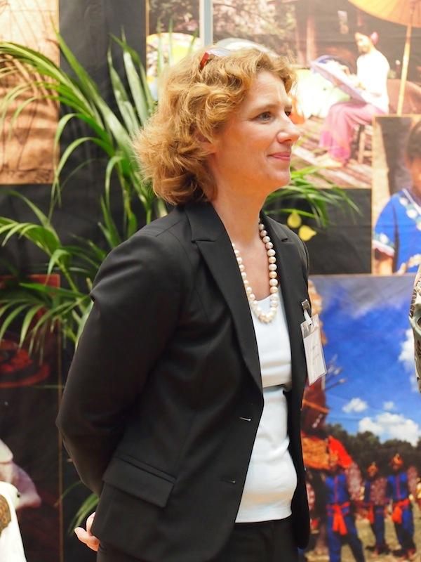 Mein Dank gilt ebenso der engagierten wie professionellen Organisatorin des ReiseSalon und ihrem Team, Frau Neumeister-Böck von n.b.s. hotels & locations.