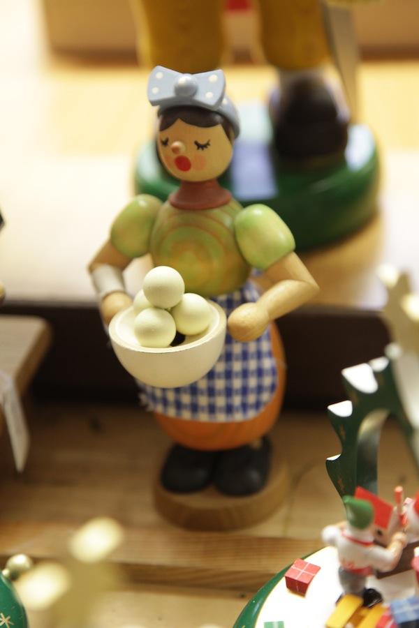 Der Favorit: Die für mich schönste Figur, die ich in ganz Seiffen gefunden habe. Stimmt Ihr mir zu? / Foto: Anna Zell