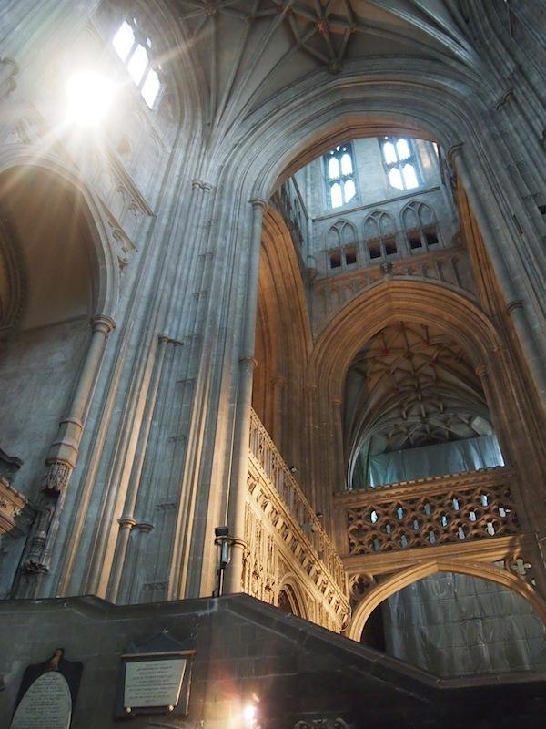 Mächtig imposant: Die Canterbury Cathedral, welche ich heuer im Sommer in England besichtigen durfte.