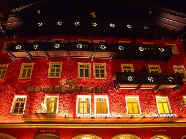 Unser Gastgeber: Das Hotel Weißes Rössl direkt am See von Sankt Wolfgang - ein Traum von einem Hotel.