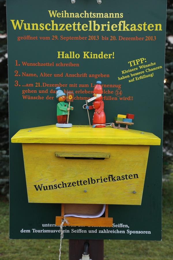 Wunschzettelbriefkasten! Klasse. :) / Foto: Anna Zell