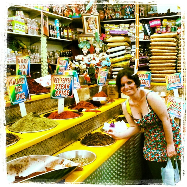 India-Feeling in Durban: I would have loved to shop here forever! / Photo: Antonia.