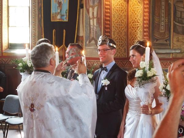 ... so schön ist das Brautpaar in Rumänien! ...