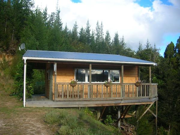 Welcome to … The Office! Hier saßen Denise & ich viele Stunden an der kreativen Arbeit zur Weiterentwicklung von Creative Tourism New Zealand.