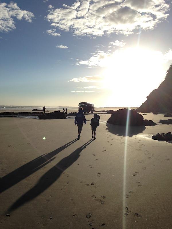 Eine meiner schönsten Erinnerungen: Die morgendliche Wanderung am Farewell Spit in Golden Bay. / Foto: Anna Zell