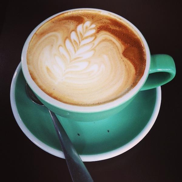 Latte Art in Neuseeland: Pausen zum Genießen! / Foto: Anna Zell