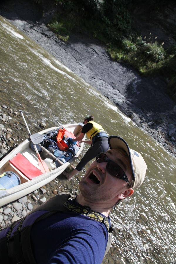 Auf zur Kanu-Expedition auf dem Whanganui River - was für ein Abenteuer für Jacob & mich! / Foto: Anna Zell