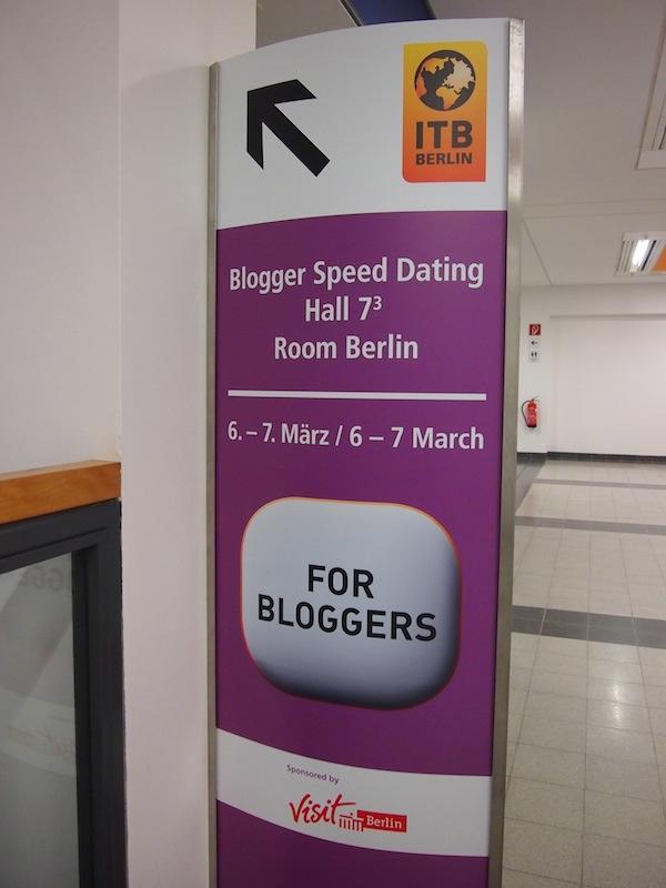 """""""Für Blogger"""": Das zum zweiten Mal erfolgreich durchgeführte Blogger-Speeddating auf der ITB Berlin bringt erfahrene Reiseblogger & an Kooperationen interessierte Tourismusunternehmen zusammen."""