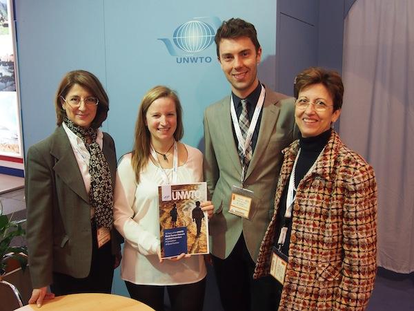 Und schließlich einer meiner Höhepunkte der diesjährigen ITB Berlin: Das Gespräch mit meinen KollegInnen und Kollegen der UNWTO World Tourism Organization aus Madrid. Stolz präsentieren wir neue Möglichkeiten der Zusammenarbeit im Kulturtourismus!
