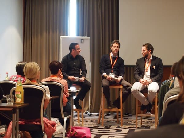 From left to right: Jaume Martin, David Arcifa & Nicholas Montemaggi talk to us about working with travel bloggers and how to measure the results.
