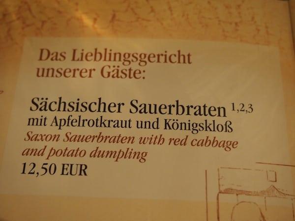 """Den Besuch des einzigartigen """"Pulverturm""""-Restaurants direkt im historischen Stadtzentrum von Dresden."""