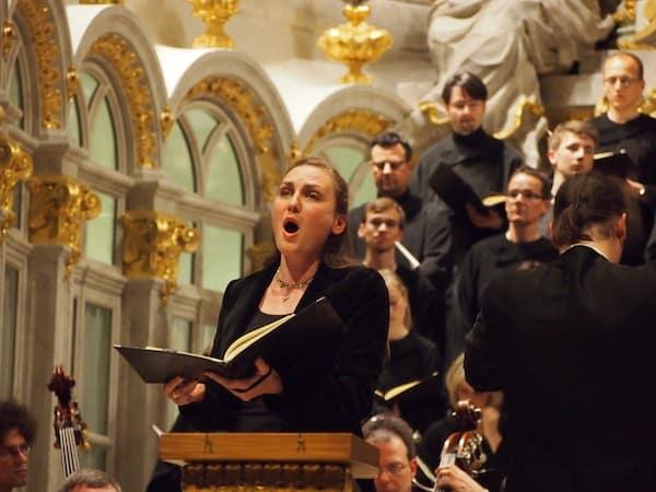 Klangerlebnis pur in der Frauenkirche von Dresden!