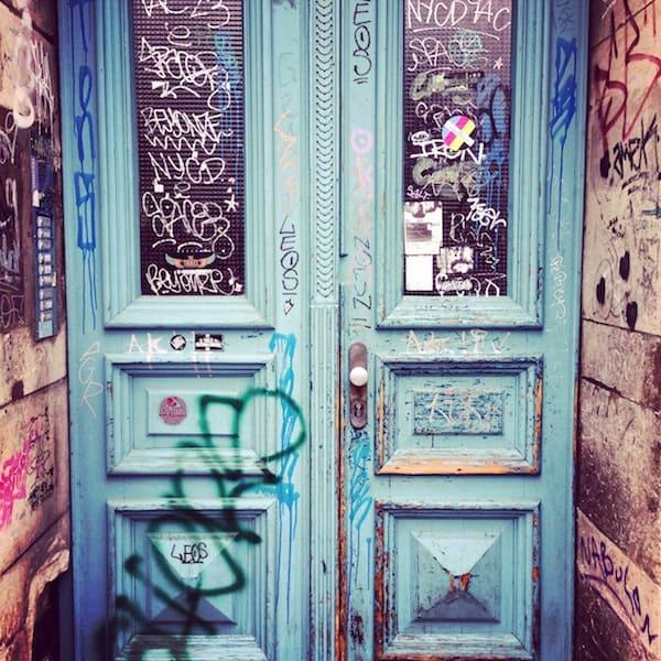 """Die wohl coolste Tür Dresdens. Auf Instagram erhielt dieses Foto so viele """"Likes"""" wie sonst kaum eines meiner Bilder!"""