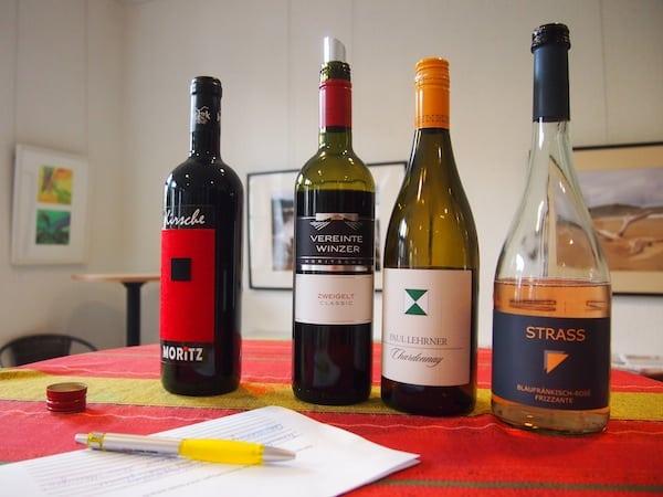 Danke für die großartige und vor allem wirklich professionell organisierte Weinverkostung im Burgenland, liebe Anna!