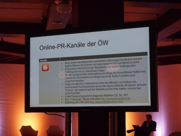 Welche sind eigentlich die Online-PR-Kanäle der Österreich Werbung? Hier erfahrt Ihr es.