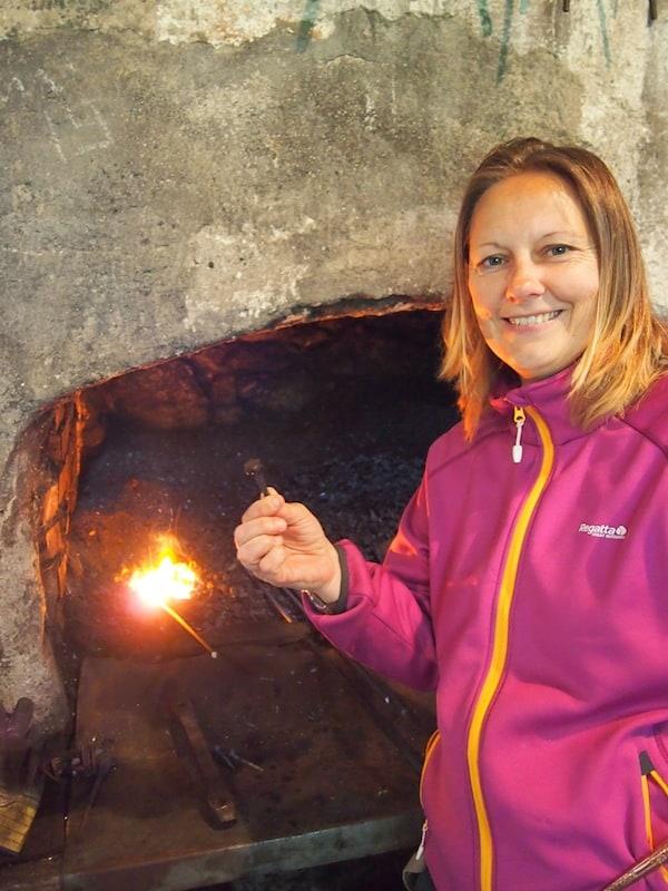 """... Angelika von Wiederunterwegs.com hat bereits gut lachen, sie hat bereits """"Nägel mit Köpfen gemacht"""" ..."""