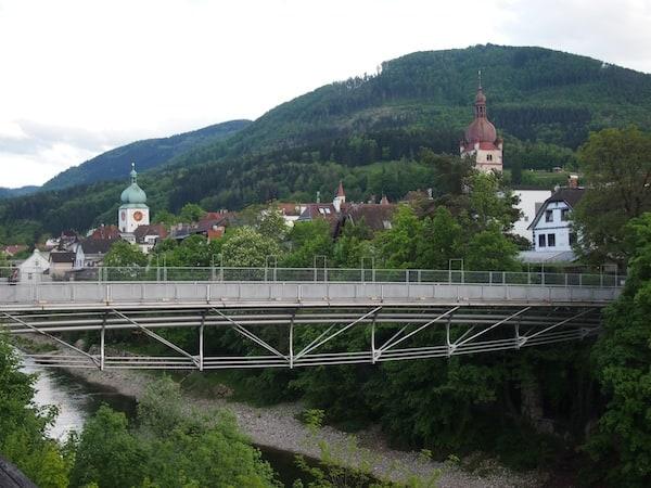 Angekommen in Waidhofen: Das malerische, mittelalterliche Kleinstädtchen liegt direkt am Fluss der Ybbs im südwestlichen Mostviertel.