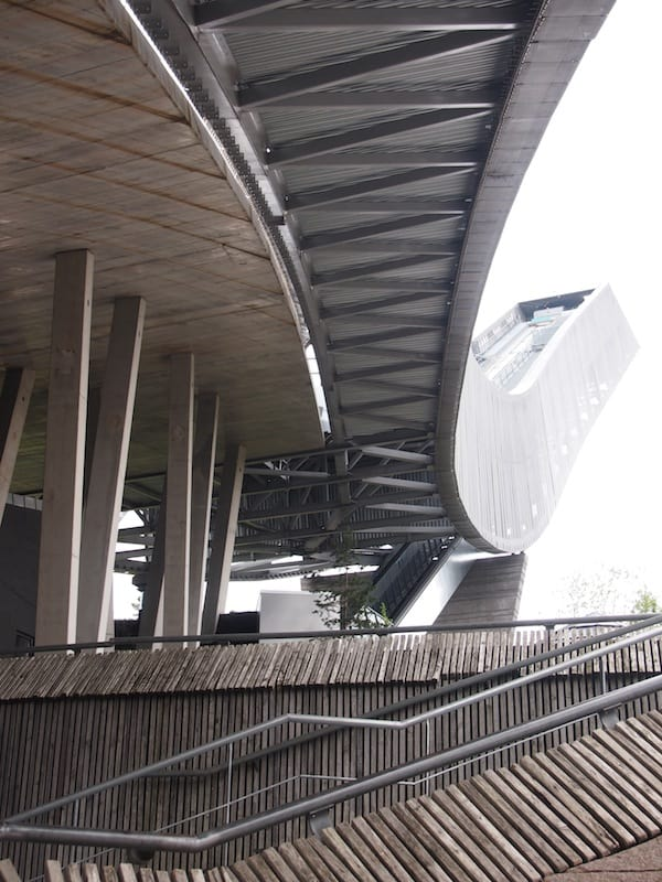 Die Architektur der Schanze ist wie das Oslo Opera House schon alleine einen Besuch wert ...