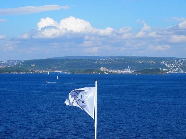 Leider heißt es schon kurz darauf mit dem DFDS Seaways Fährschiff schon wieder Abschied nehmen Richtung Kopenhagen ...