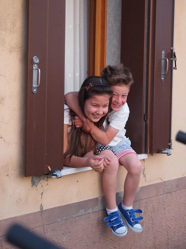 ... und auch die Einheimischen sind ganz begeistert von uns & unseren Ebike-Rädern!