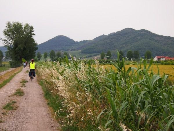 ... und genießen unser Raderlebnis in vollen Zügen: Herrlich ist es, hier unterwegs zu sein.