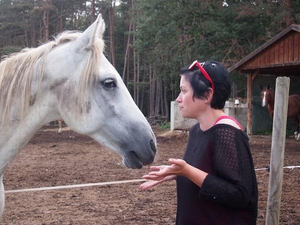 Sie war jedem Lebewesen freundlich und offenherzig gestimmt ...