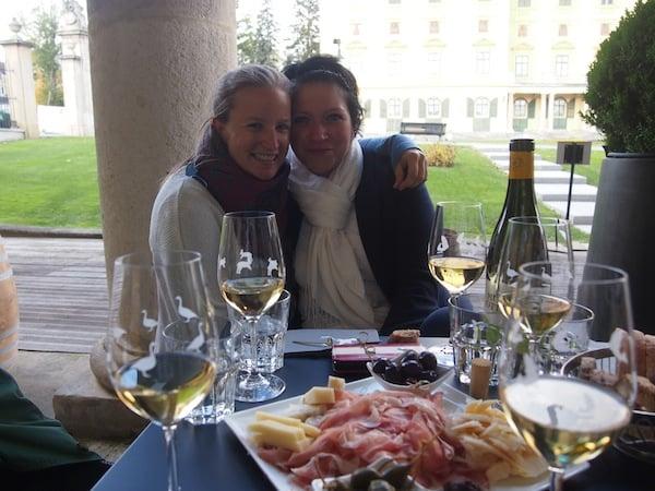 ... wie ich liebte sie die gute Küche und den edlen Wein des Burgenlandes ...