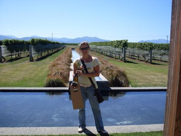 Unterwegs Richtung Neuseelands Ostküste lohnt es sich, dem Weinbaugebiet Marlborough im Nordosten von Neuseelands Südinsel einen Besuch abzustatten. Hier gibt es ausgezeichneten Chardonnay oder Sauvignon Blanc - ein guter Reiseproviant für Genussreisende wie mich.