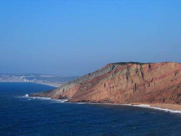 ... rings um Nazaré finden wir Küstenlandschaften die uns den Atem rauben ...