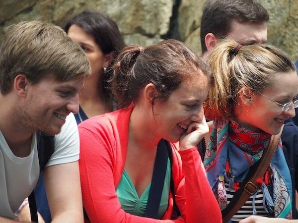 Im Oceanario von Lissabon haben wir gut lachen ...
